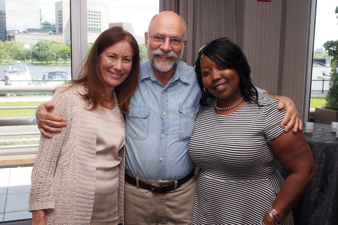 HSRI Policy Associate Elizabeth Pell, Co-founder John Ashbaugh, and Office Manager Sebrina Johnike