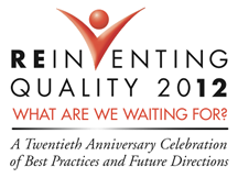 Reinventing Quality 2012 Conference Logo